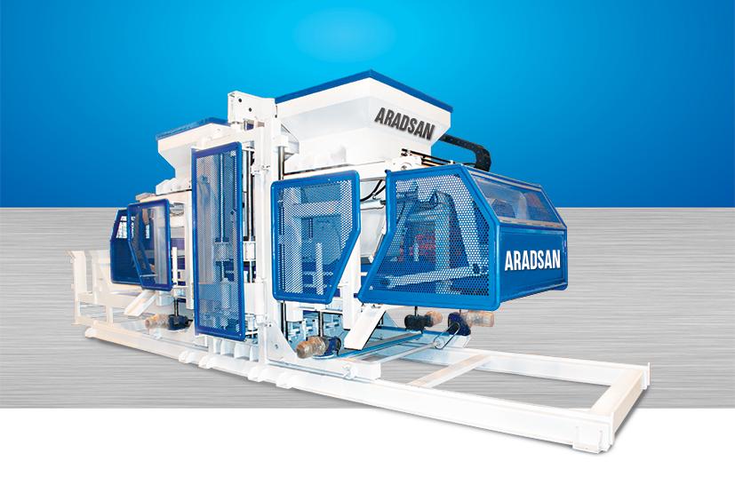 Fully Automatic Concrete Block Machine TP.RN2530