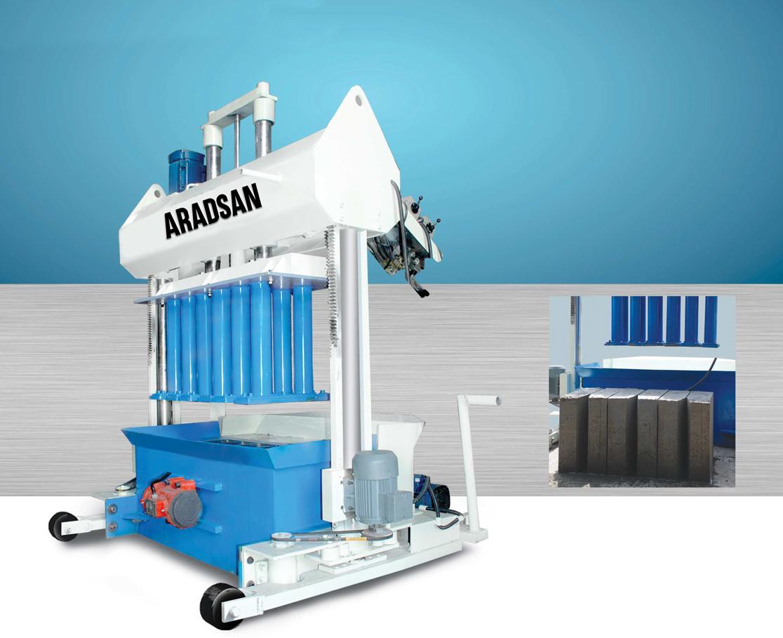 Hydraulic CurbStone Machine KAD1200
