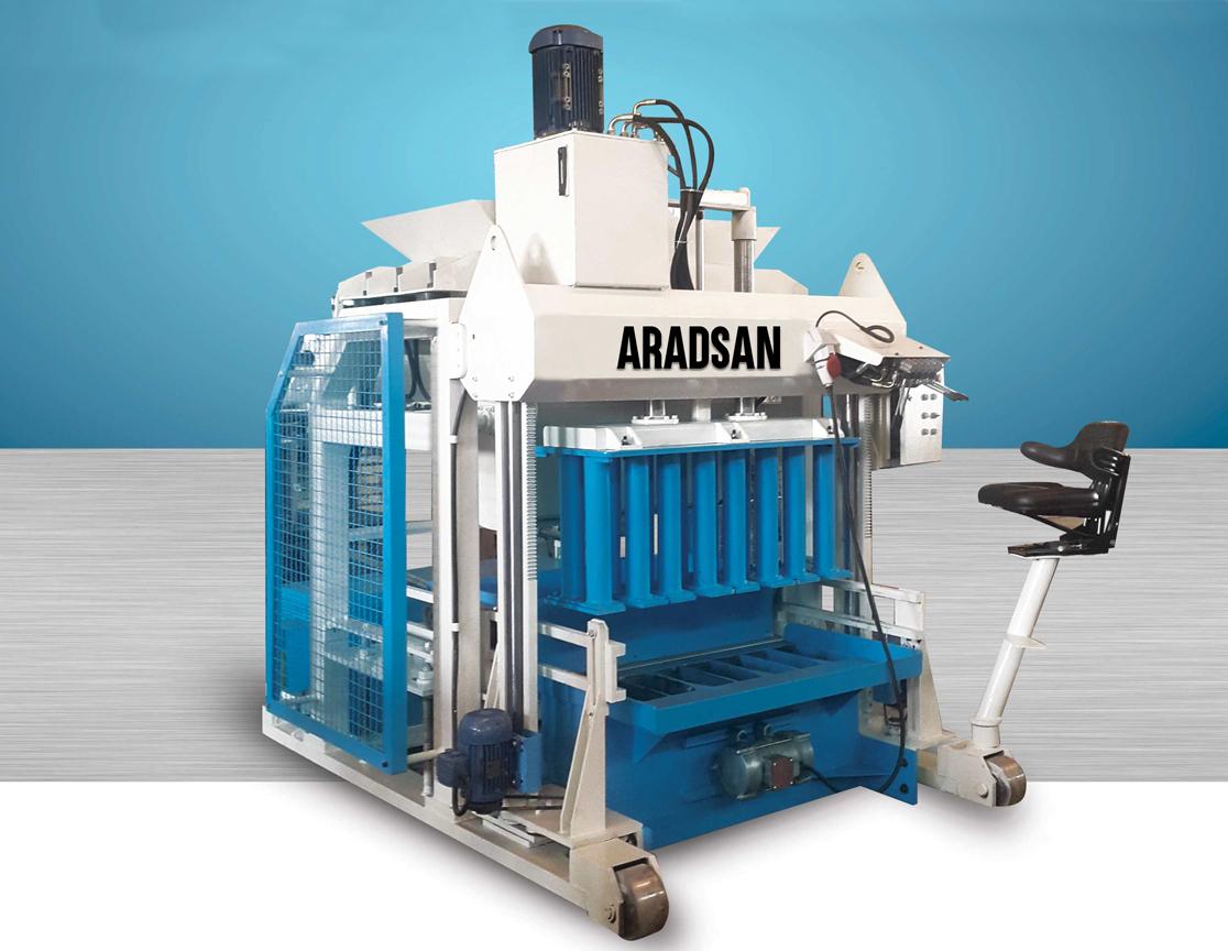 Automatic Portable Curb Stone Making Machine KAD1400