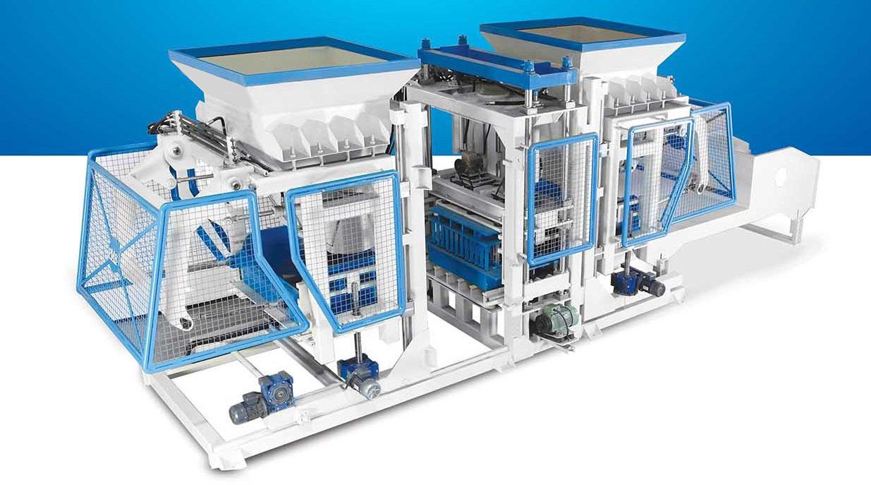 Полностью автоматическая машина для производства бетонных блоков TP.RN2025